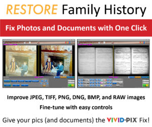 Vivid-Pix Launches New AI Powered RESTORE – Patented Photo & Document Restoration Software