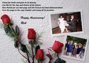Create a Gift from the Heart – an Anniversary Photo Card for FREE!